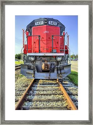 Big Red Framed Print by JC Findley