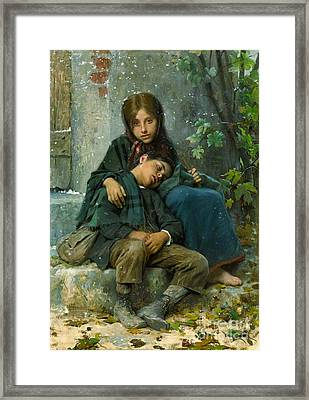 Big Sister 1890 Framed Print by Padre Art