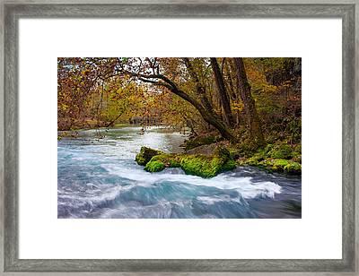 Big Spring Waters Framed Print by Jackie Novak