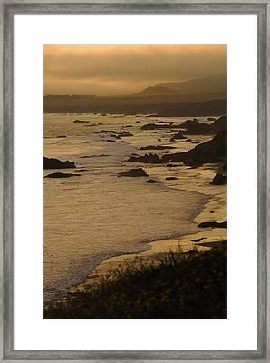 Big Sur Coastline Framed Print by Don Wolf