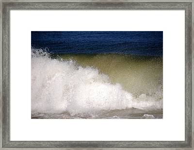 Big Waves Framed Print by Susanne Van Hulst