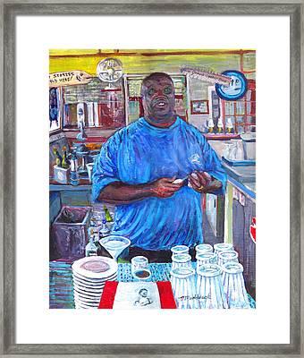 Bigal Framed Print by Thomas Michael Meddaugh