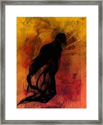 Bijin Framed Print by C G Rhine