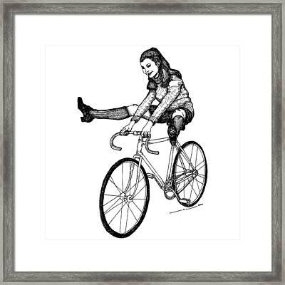 Bike Fun Framed Print by Karl Addison