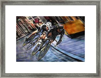 Bikers Framed Print by Robert Smith