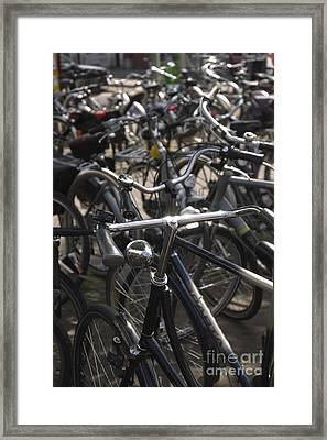 Bikes Bikes Bikes Framed Print by Andy Smy