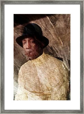 Bill Framed Print by Andrea Barbieri