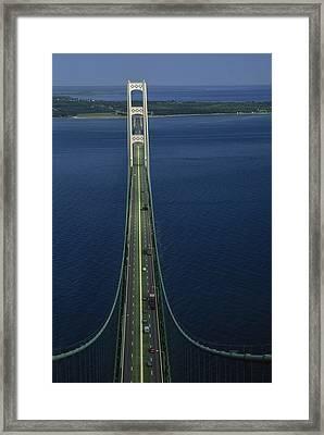 Billed As The Eighth Wonder Framed Print by Phil Schermeister