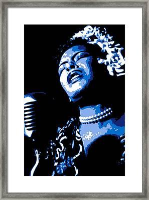 Billie Holiday Framed Print by DB Artist