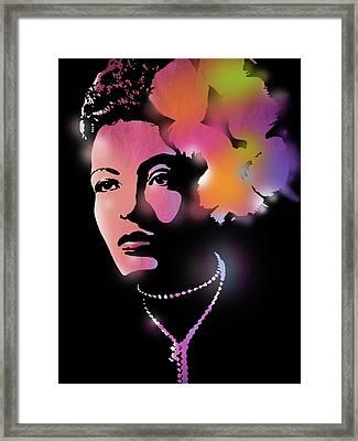 Billie Holiday Framed Print by Paul Sachtleben