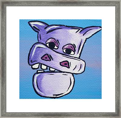 Billy Bob Framed Print by Jera Sky