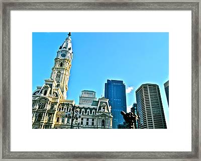 Billy Penn Framed Print by Brynn Ditsche