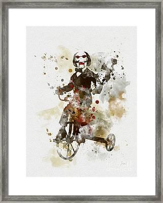 Billy Framed Print by Rebecca Jenkins