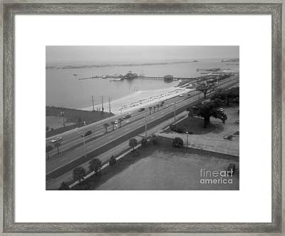 Biloxi Memories Framed Print by Joseph Baril