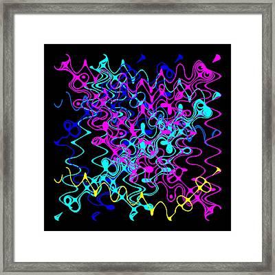 Bingo1-0-c Framed Print by Ron Brown