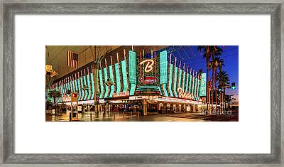 Binions Casino Entrance Framed Print by Eric Evans
