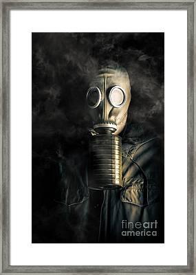 Biohazard Death And Destruction Framed Print by Jorgo Photography - Wall Art Gallery