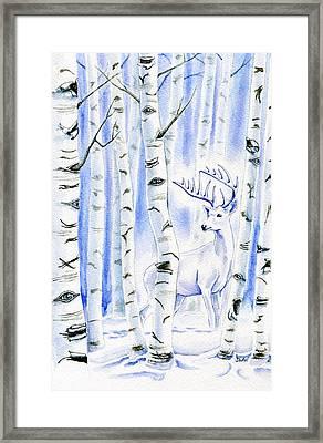 Birch Spirit Framed Print by Antony Galbraith