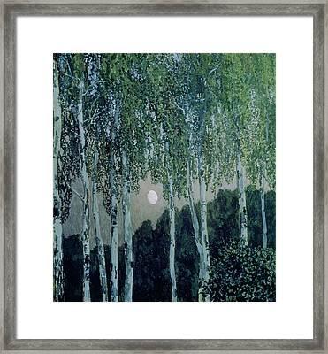 Birch Trees Framed Print by Aleksandr Jakovlevic Golovin