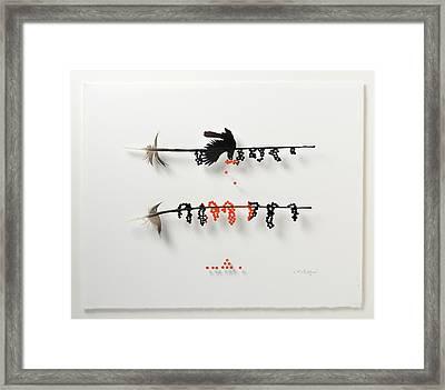 Bird Berry Framed Print by Chris Maynard
