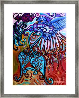 Bird Heart II Framed Print by Genevieve Esson