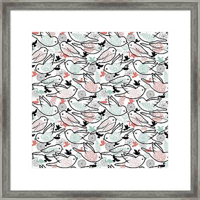 Bird Solid Framed Print by Elizabeth Taylor