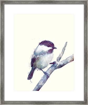 Bird // Trust Framed Print by Amy Hamilton