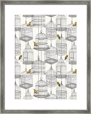 Birdcages Framed Print by Stephanie Davies