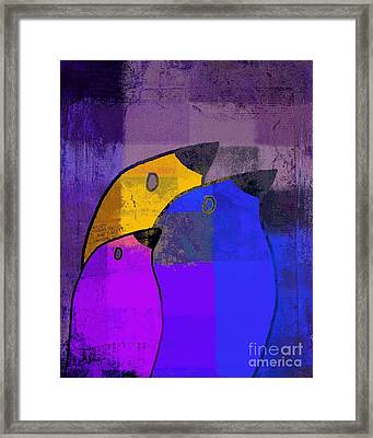 Birdies - C02tj126v5c35 Framed Print by Variance Collections