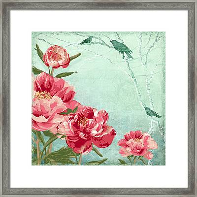 Birds Of The Sky Framed Print by Audrey Jeanne Roberts
