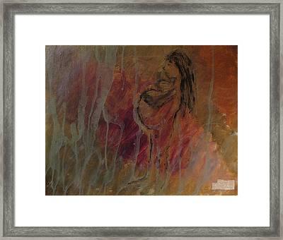Birth Pains Framed Print by Lisa  Graham