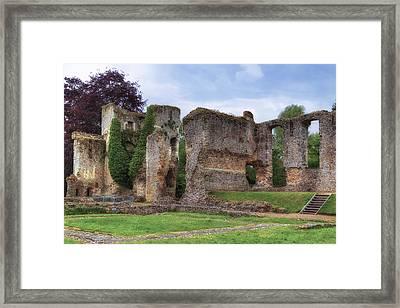 Bishop's Waltham Palace - England Framed Print by Joana Kruse