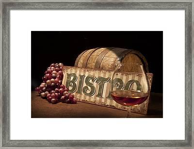 Bistro Still Life II Framed Print by Tom Mc Nemar
