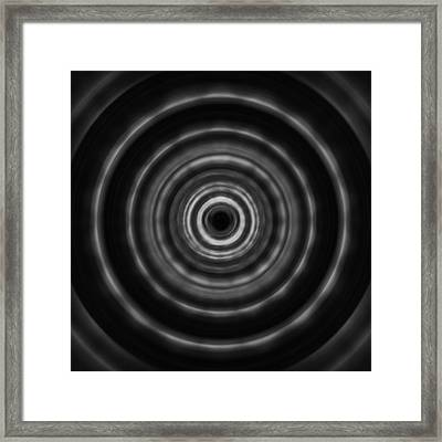 Black And White Art - Mesmerize - By Sharon Cummings Framed Print by Sharon Cummings