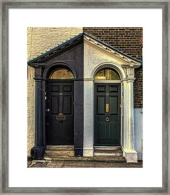 Black And White Framed Print by Martin Newman