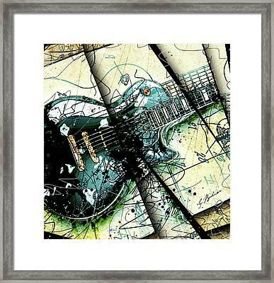 Black Beauty C 1  Framed Print by Gary Bodnar