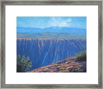 Black Canyon Of The Gunnison Framed Print by Gene Foust