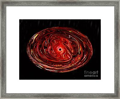 Black Hole Framed Print by David Lee Thompson
