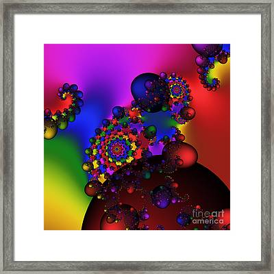 Black Holes Area 195 Framed Print by Rolf Bertram