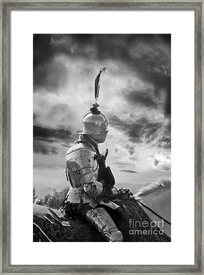 Black Knight Framed Print by Terri Waters