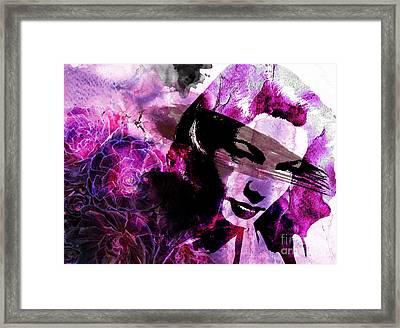 Black Magic Women Framed Print by Ramneek Narang