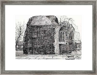 Blackfriars Chapel St Andrews Framed Print by Vincent Alexander Booth
