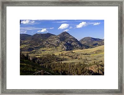 Blacktail Road Landscape 2 Framed Print by Marty Koch