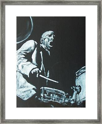 Blakey Framed Print by Pete Maier