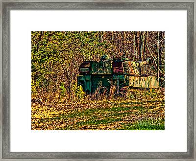 Blast From The Past Framed Print by Kathy Liebrum Bailey
