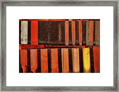 Blast Furnace -  Iron Ore - Abstract - 1  Framed Print by Nikolyn McDonald