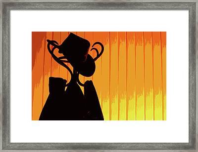Blazing Framed Print by Kostadin Dinov