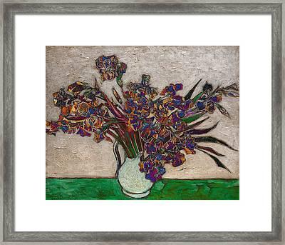 Blend 10 Van Gogh Framed Print by David Bridburg