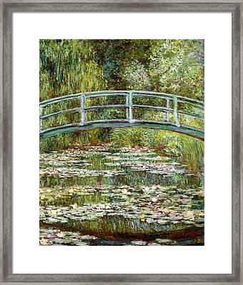 Blend 11 Monet Framed Print by David Bridburg