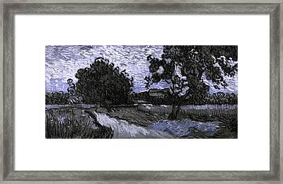 Blend 13 Van Gogh Framed Print by David Bridburg